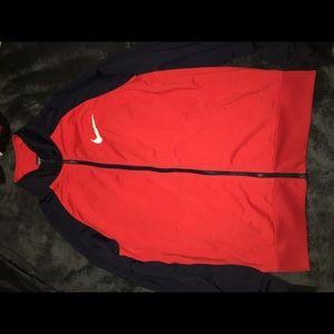 Nike Zip Up Training Sweater